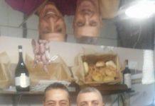 Andrea e Fabrizio, ideatori de Nà Rosetta