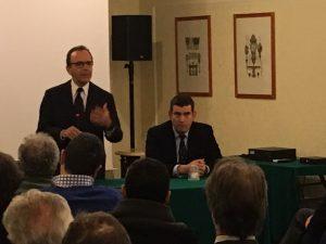Roma, Stefano Parisi e Francesco de' Micheli