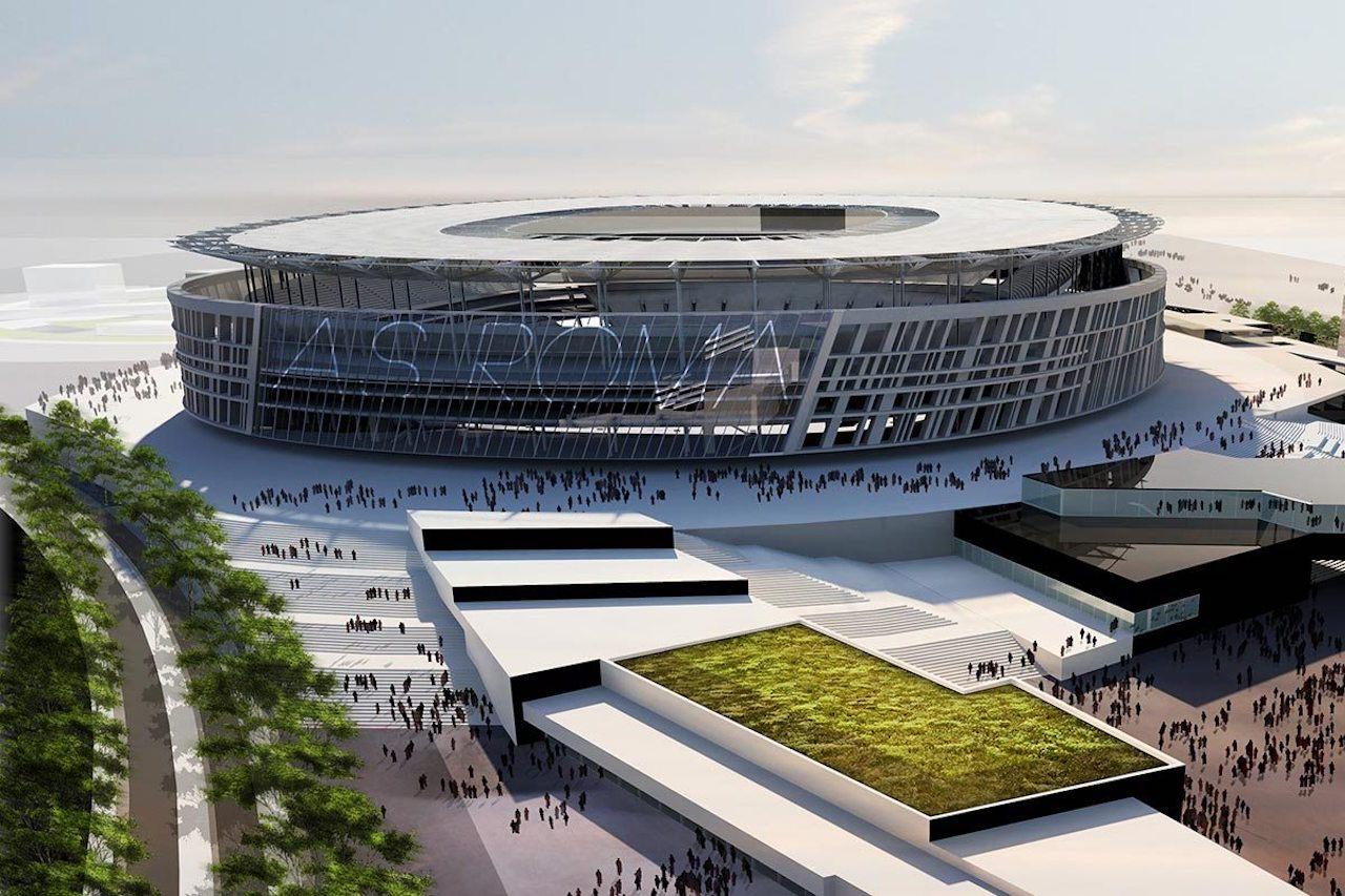 Stadio Roma. Raggi. Dimezzate le cubature del 60%. Attività socio-culturali negli edifici